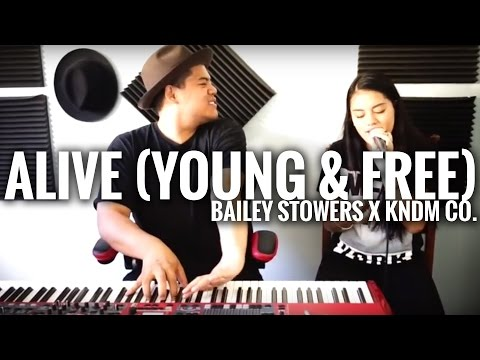 Alive - Hillsong Young & Free (cover)  //  Bailey Stowers  x  David Taafua