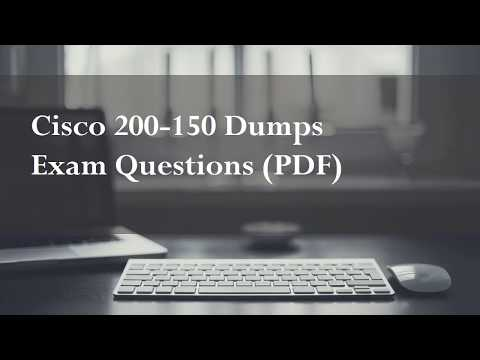 Cisco 200 150 Dumps Exam Questions PDF
