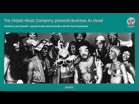 Business As Usual August 2017: Luke Solomon, Detroit Swindle & Nachtbraker