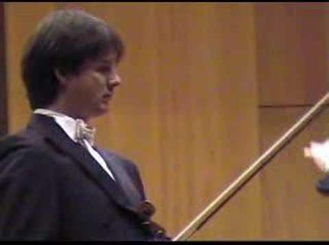 Liviu Prunaru plays Wieniawski Concerto no.1, p I, a