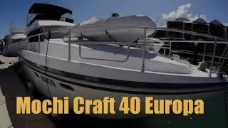 Mochicraft 40 Europa Diesel Flybridge Cruiser Sold
