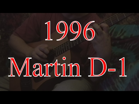 Martin D-1 (1997) sound clips