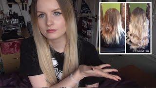 Keratin Hair Extensions   Vivid Hair Review