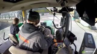 John Deere 6140R - Hen Dung Cart - GoPro HD