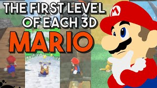 The First World of every 3D Mario Game.