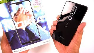 Nokia 6.1 Plus Unboxing & First Look ❤Lovely ❤ [Urdu/Hindi]
