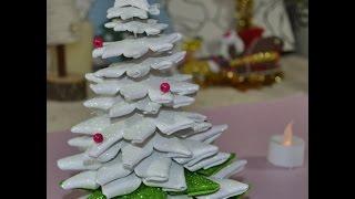 DIY CREA SAPIN DE NOEL Miniature☆ Tutoriels ☆ LOISIRS CREATIFS