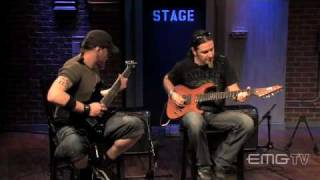 Lacuna Coil performs Spellbound on 7 string guitars on EMGtv