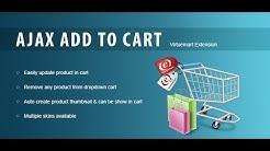 Ajax Drop Down Cart for Virtuemart | Shopping Cart Module - Virtuemart Extensions