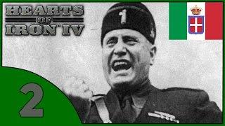 Hearts of Iron IV - Италия - #2 (Покорение Эфиопии)(Фашистская Италия во время Второй Мировой войны, под предводительством Бенито Муссолини. --------------------------------..., 2016-06-13T15:28:14.000Z)
