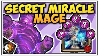 Hearthstone: Legend Miracle Secret Mage - Rise Of Shadows