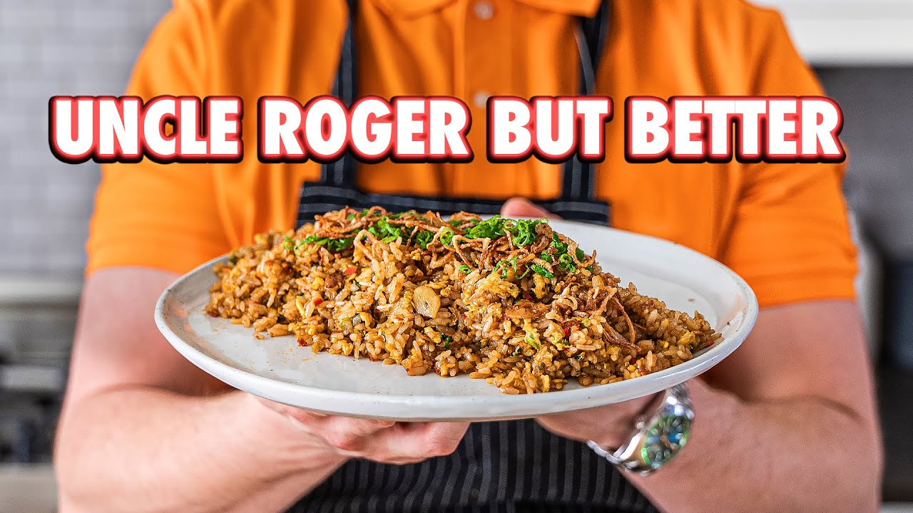 Uncle Roger's Fried Rice But Better