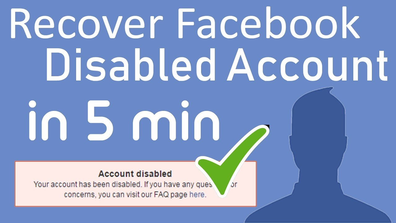 How to Recover Disabled Facebook Account in 16 minutes 16 easy step by  step FB Id
