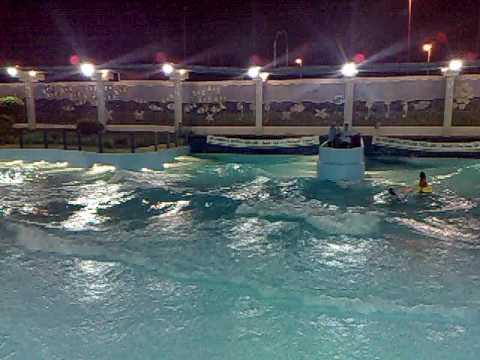 Wave pool in stationary fantasies water - Public swimming pools greensboro nc ...