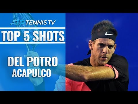 Juan Martin Del Potro: Top 5 Shots & Rallies in Acapulco