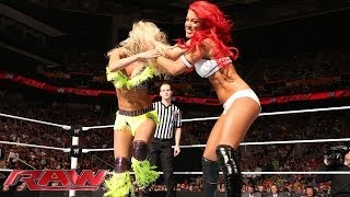 Eva Marie vs. Summer Rae: Raw, May 26, 2014