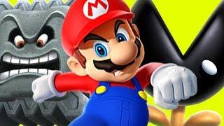 COMPLETAMENTE DESBARATINADO COM MUNCHERS E THWOMPS  Super Mario Maker SUPER TONTEADO