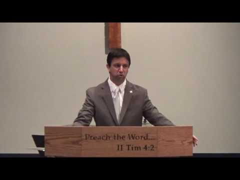 """The Imperative of Repentance"" Dr. Robb Brunansky"