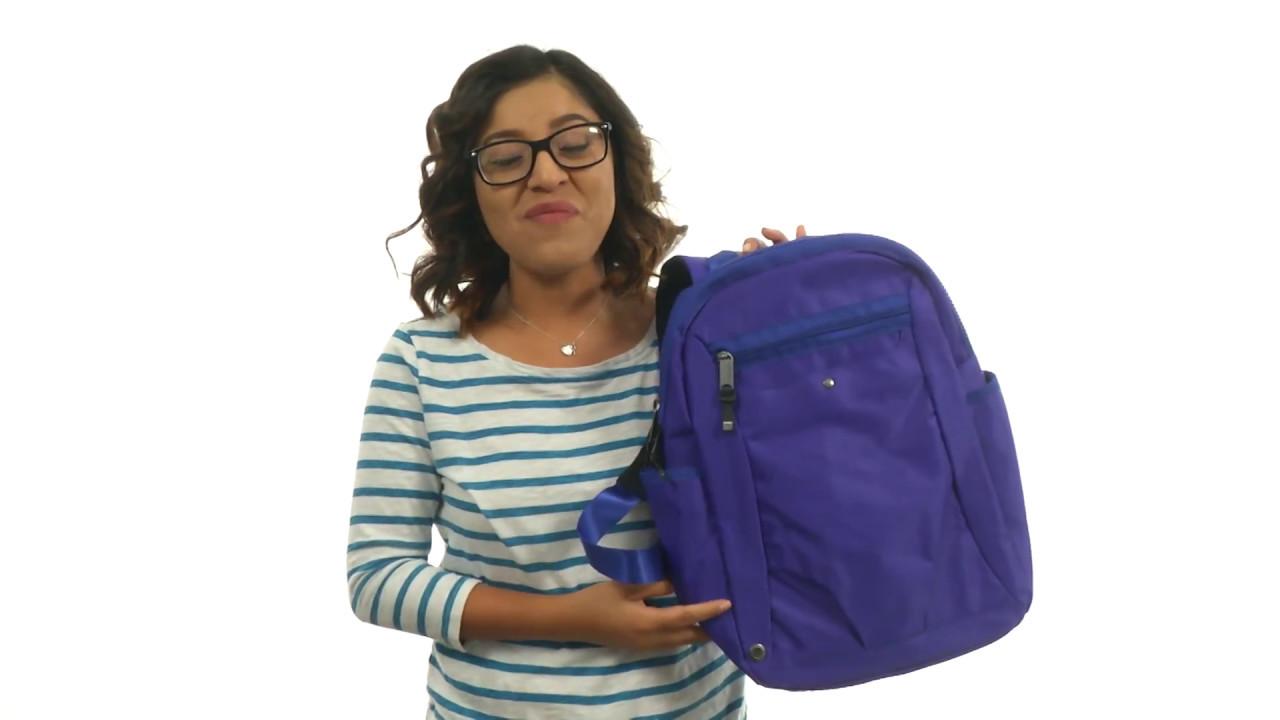 3ddb5ea3c048 Baggallini Gadabout Laptop Backpack SKU 8875716 - YouTube