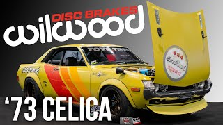SEMA 2019 - Wilwood Equipped 1973 Toyota Celica from JH Restorations