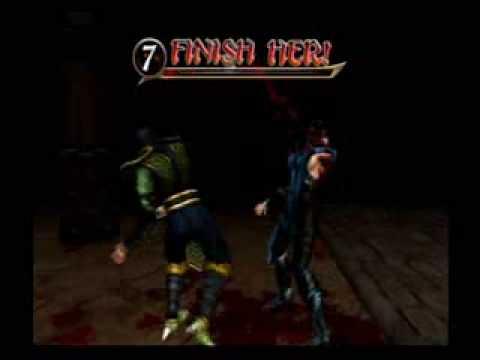 Mortal Kombat Armageddon - Reptile Finishes Frost
