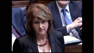 Joan Burton insinuates that ordinary people shouldnt be able to aff...