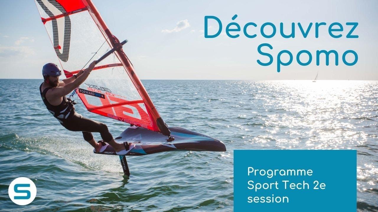 Programme Sport Tech 2e session - Découvrez Spomo