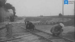 Пропуск поездов на полевой железной дороге (1913-1914 гг.)