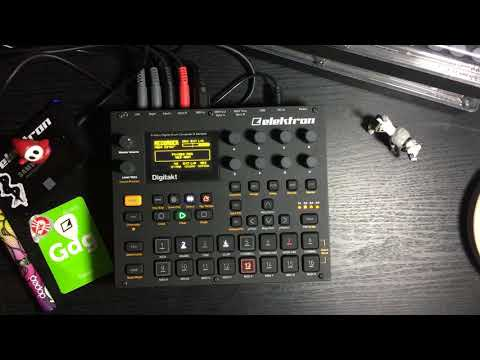 Different Strains Vol. 2 - Making Beat on Digitakt [from Jam Video]