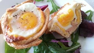 Breakfast Cups - Egg Sausage and  Cheese Cups recipe