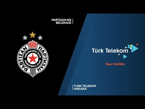 Partizan NIS Belgrade - Turk Telekom Ankara Highlights | 7DAYS EuroCup, RS Round 10