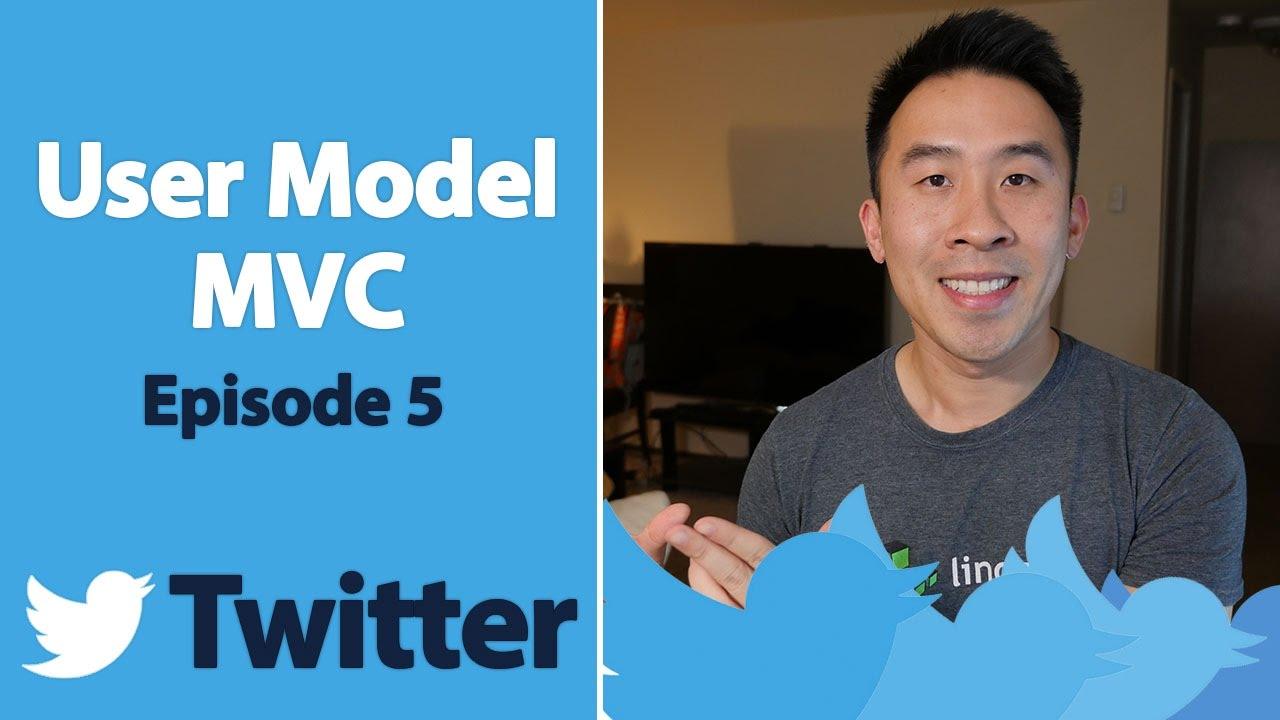 swift 3 twitter user mvc implementation ep 5 youtube