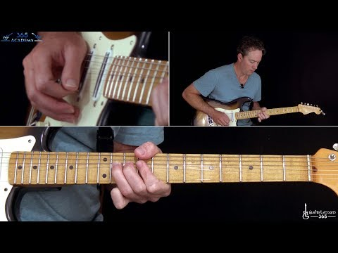 Queen  Somebody to Love Guitar Solo Lesson