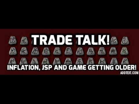 Diablo 2: Trade talk. Inflation, game getting older and the JSP effect - YouTube