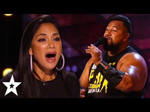 The STRONGEST Singer Ever SURPRISES Everyone On Australia's Got Talent 2019!   Got Talent Global