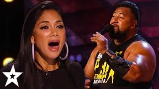 Download The STRONGEST Singer Ever SURPRISES Everyone On Australia's Got Talent 2019! | Got Talent Global Mp3 and Videos