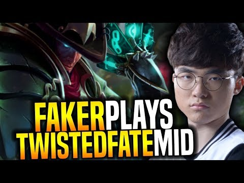 Faker Showing The Power Of Twisted Fate! - SKT T1 Faker SoloQ Playing Twisted Fate Midlane!