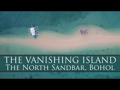 This Island Vanishes. And it is Magical! The North Sandbar, Bohol Video