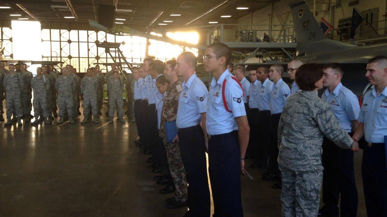 Sheppard Air Force Base Graduation Day Technical Airmen OCT 17 2013