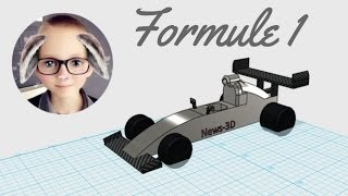 Modélisation Formule 1 - 123D Design
