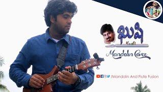 Kushi - Mandolin Cover - Satya Sagar Gatti