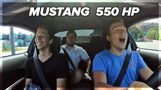 Najgłośniejszy Mustang w Polsce! (550 HP )