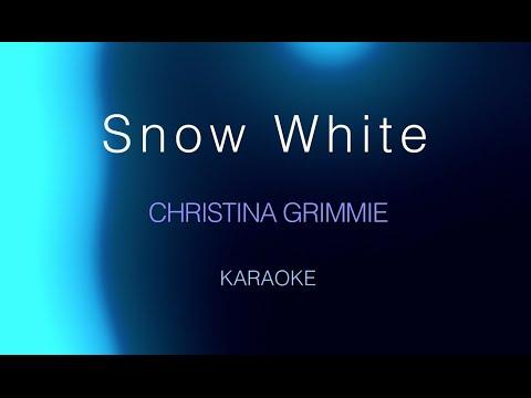 Christina Grimmie - Snow White (Karaoke)
