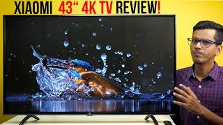 "Mi TV 4X 43"" 4K TV Detailed Review! 4K at just 24,999!"