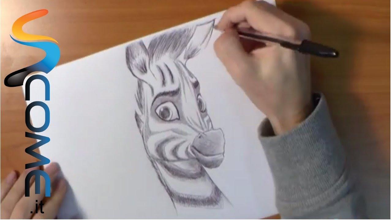 Impara a disegnare la zebra khumba youtube for Calciatori da colorare per bambini