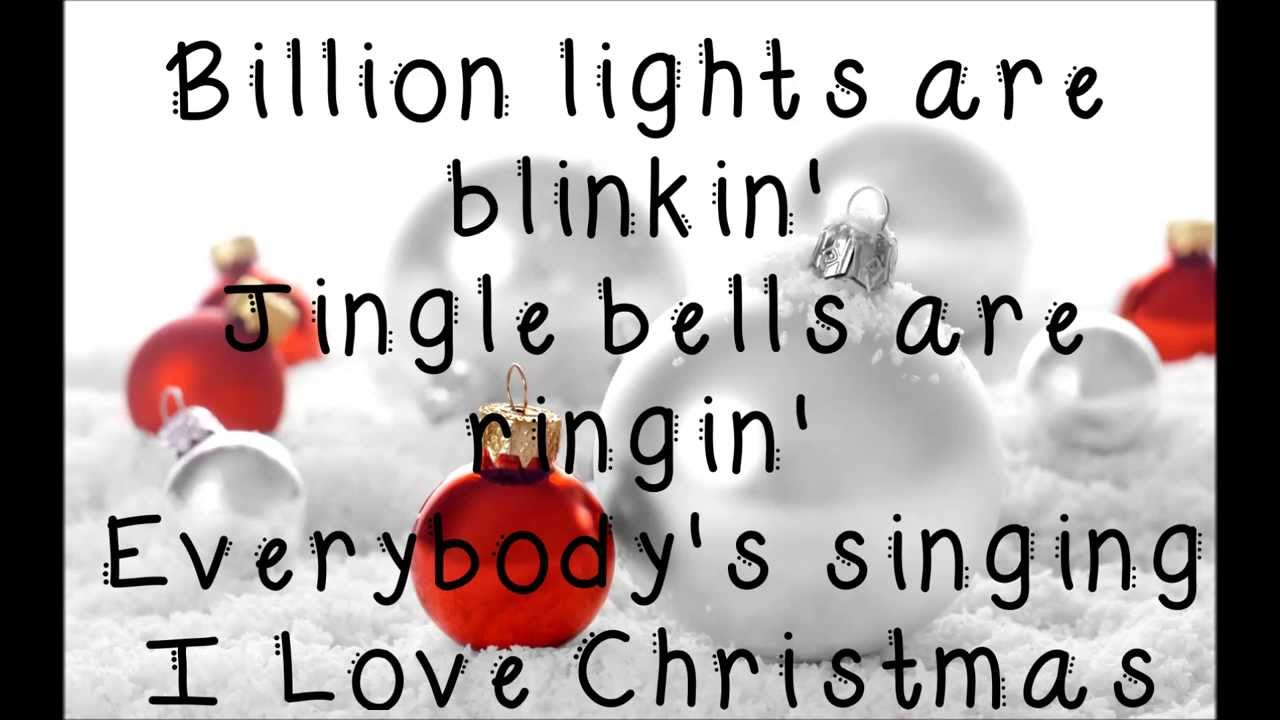 Ross Lynch & Laura Marano I Love Christmas Lyrics - YouTube