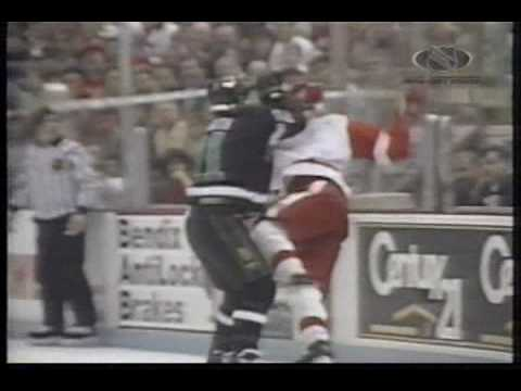 North Stars @ Red Wings Game 1 1992