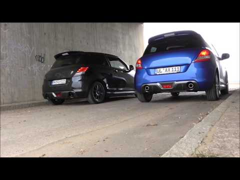 Suzuki Swift Sport NZ  FSW vs Originale bearbeitet