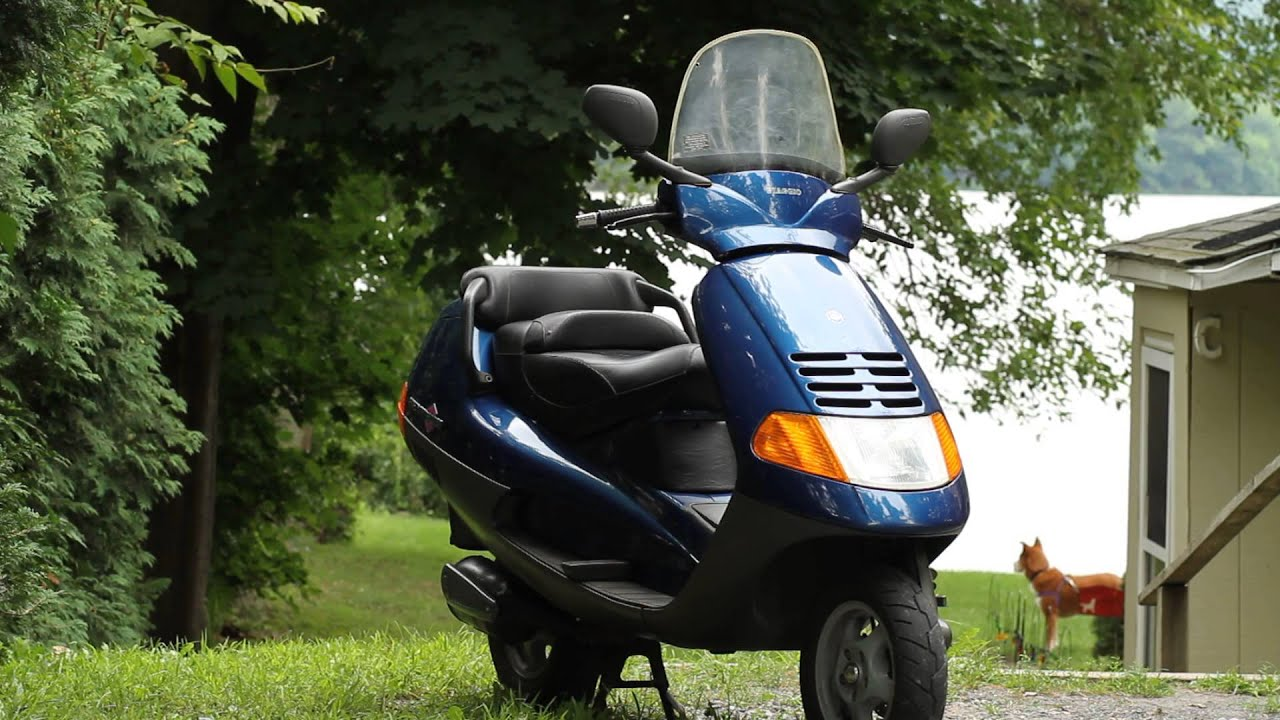 1996 piaggio hexagon 150 cc 2 stroke c youtube. Black Bedroom Furniture Sets. Home Design Ideas