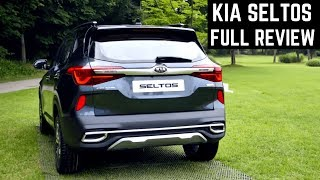 Kia SELTOS SUV Real Life WALKAROUND Detailed REVIEW - ALL VARIANTS, Engine, Mileage, Features Price
